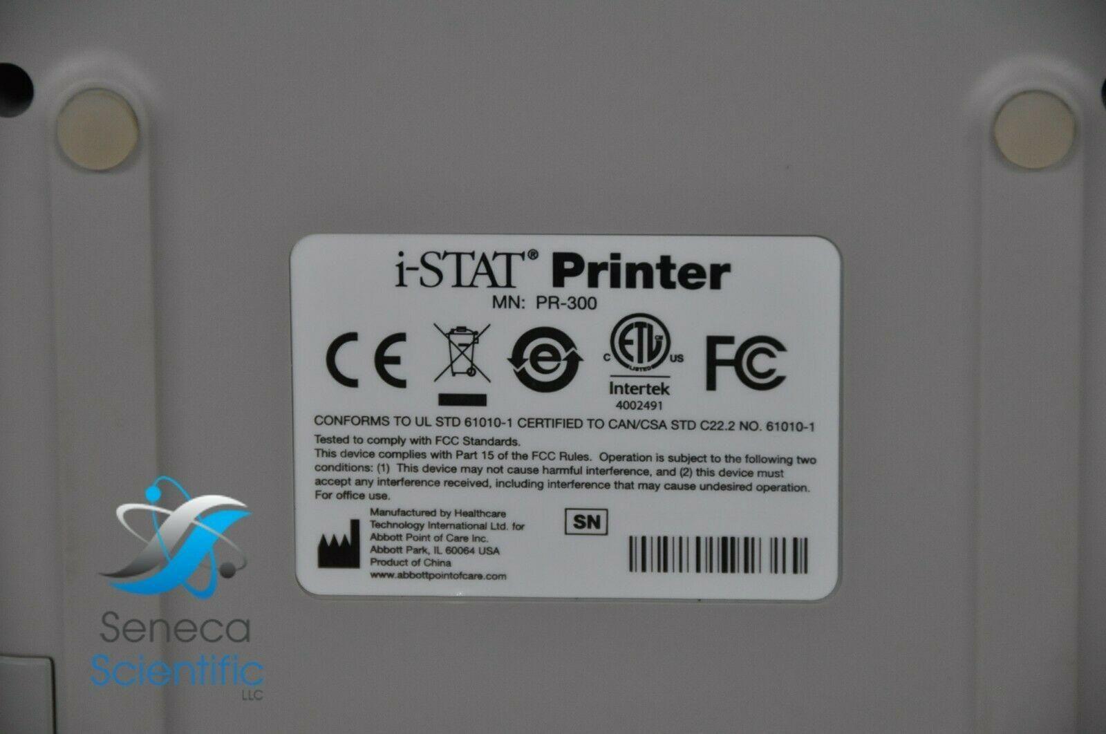 I-STAT 1 PRINTER ABBOTT ABAXIS ALINITY ISTAT PR-300 04P7404