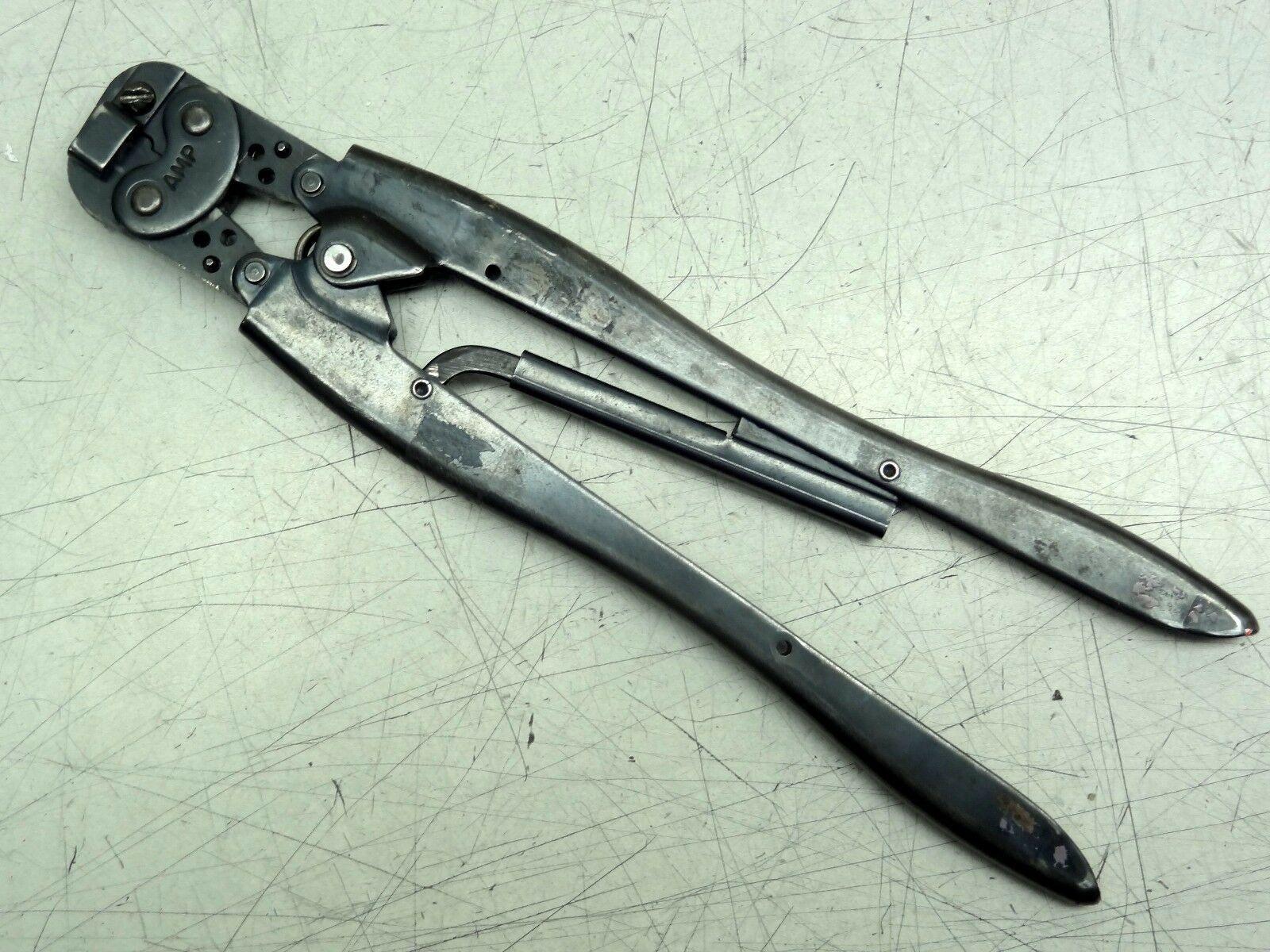 Amp Tyco 48087 Ratchet Hand Crimper / Crimping Tool 22-14 AWG AD E.C.V.
