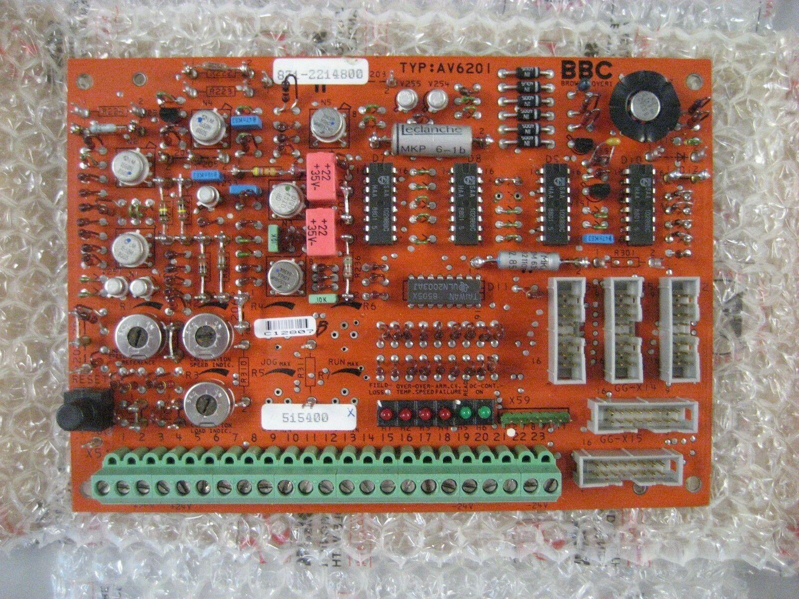 BBC AV6201 REGULATOR PC CIRCUIT BOARD - FREE SHIPPING