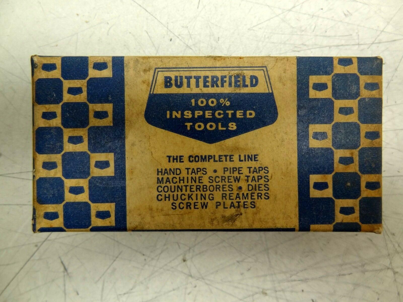 Box of 3 Butterfield 1500 3/4-10 NF High Speed Steel Hand Taps H-3 Ground Thread