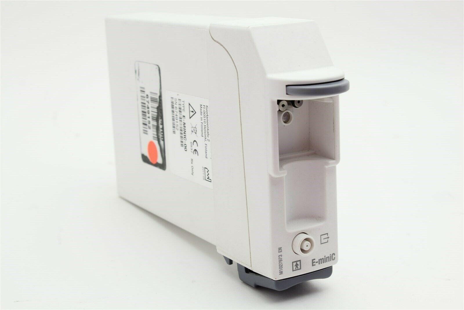 GE Carescape E-miniC Gas Exhaust Airway CO2 Anesthesia Module
