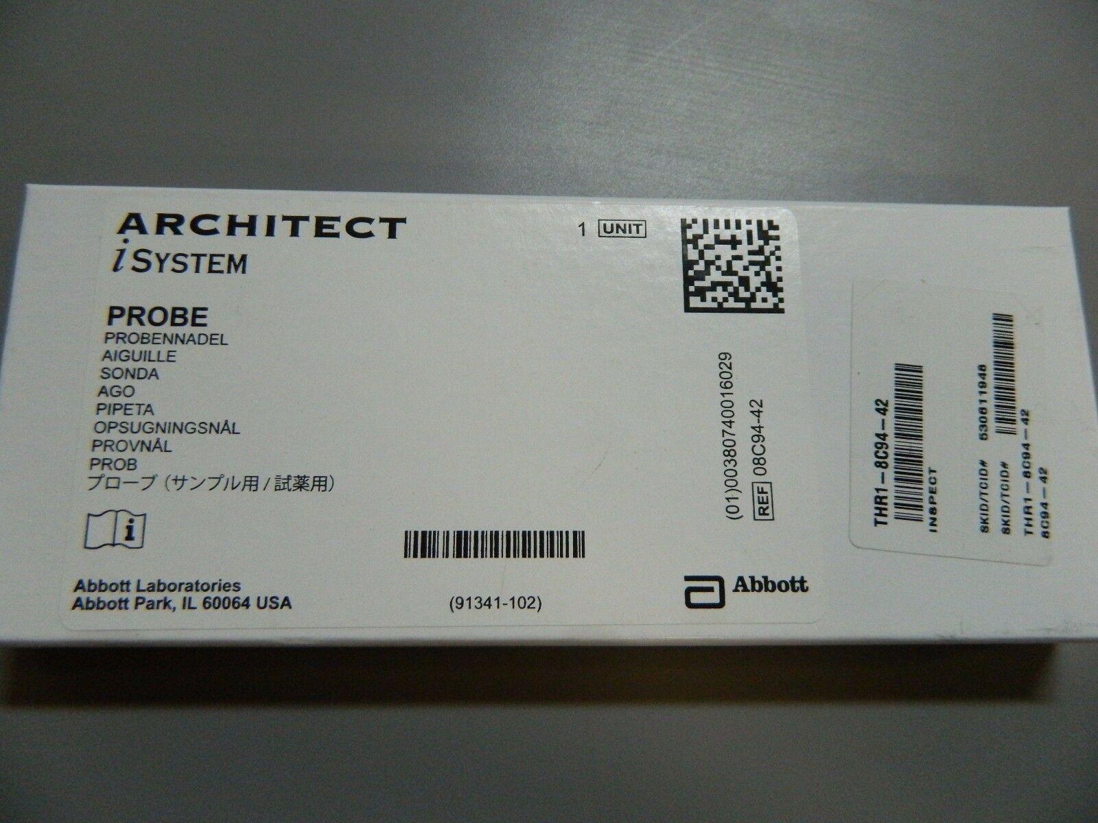 PROBE P/N 08C94-42 FOR ABBOTT ARCHITECT iSYSTEMS BRAND NEW
