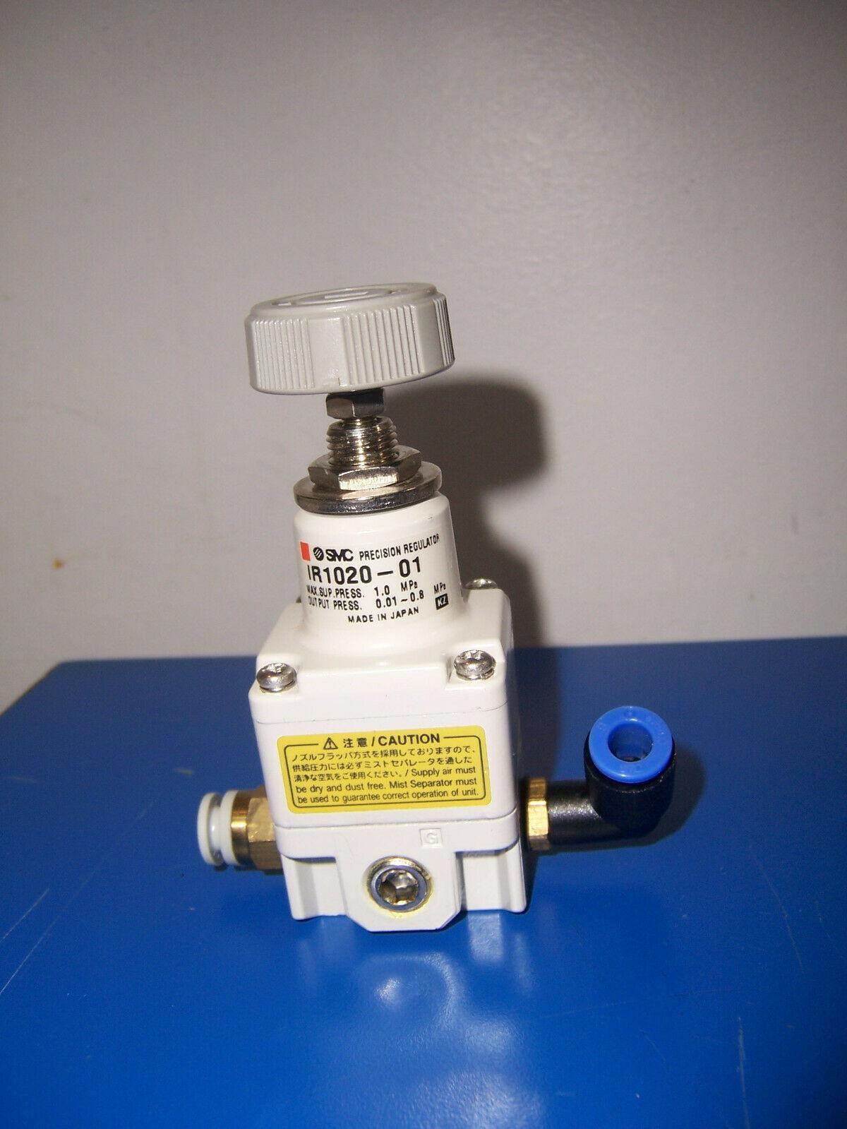 12071 SMC IR1020-01 Precision Regulator