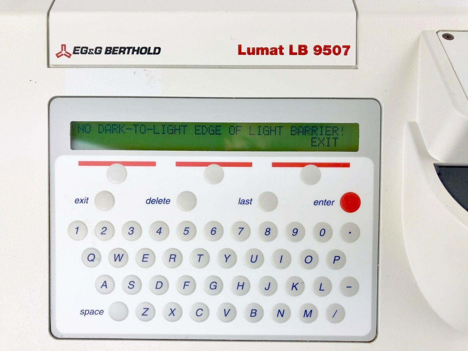 Lumat LB 9507 Ultra Sensitive Tube Luminoter by Berthold Technologies
