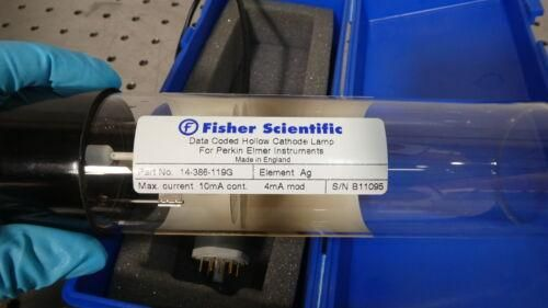 R176507 Fisher Scientific Ag 14-386-119G Hollow Cathode Lamp