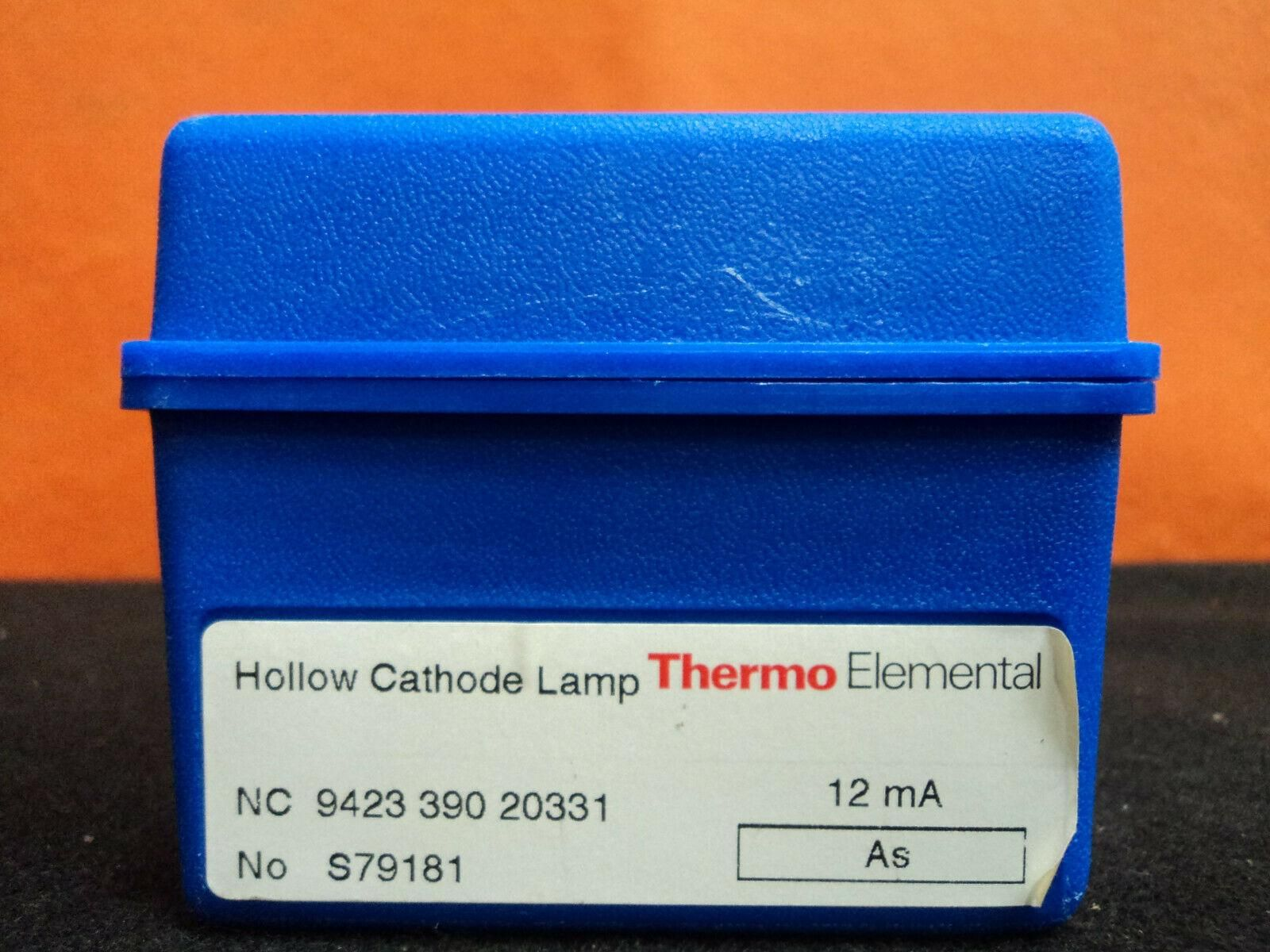 Thermo, TJA, Fisher Hollow Cathode Lamps As Mo Al Zn Pb  - Working Lamps