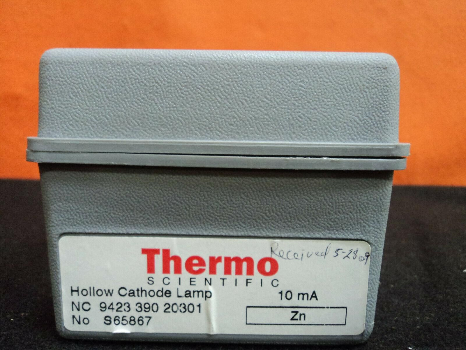 Thermo Scientific Hollow Cathode Lamps Zn Mo Se Ni Cr  - Working Lamps