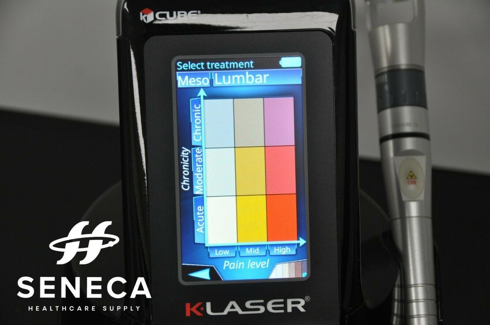 K-LASER CUBE 4 15W MEDICAL THERAPY LASER CLASS 4 IV KLASER ELTECH