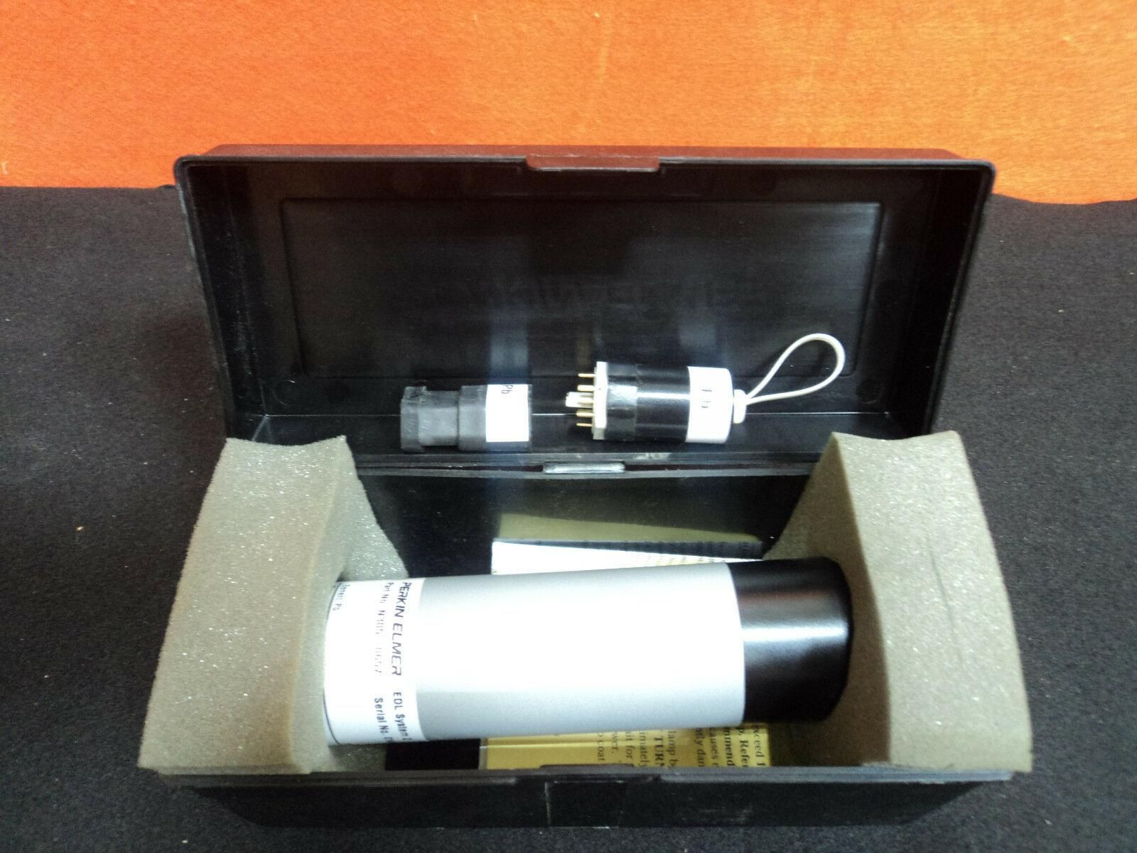 Perkin Elmer N305-0657 Pb Electrodeless Discharge Lamp EDL