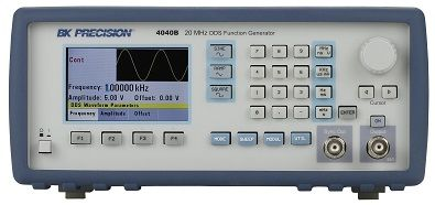 B&K Precision 4014B and 4040B 12 MHz and 20 MHz DDS Sweep Function Generators