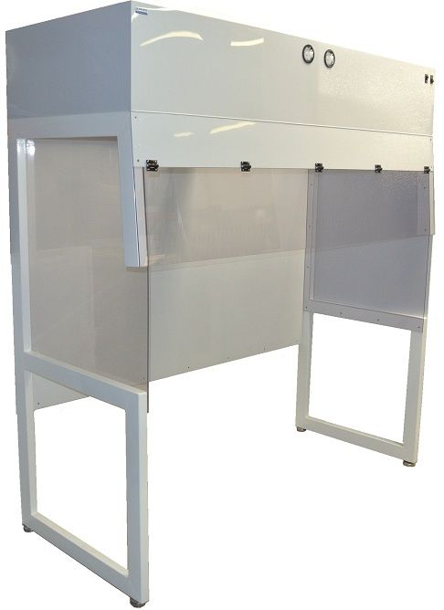 Free Standing Vertical Laminar Flow Hoods from Cleatech