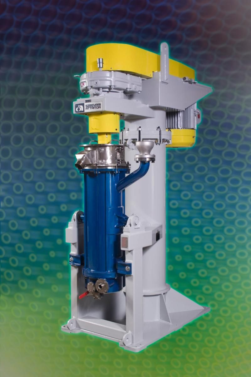 C-60 Attrition Mill for Processing Proppants for Fracking Industry