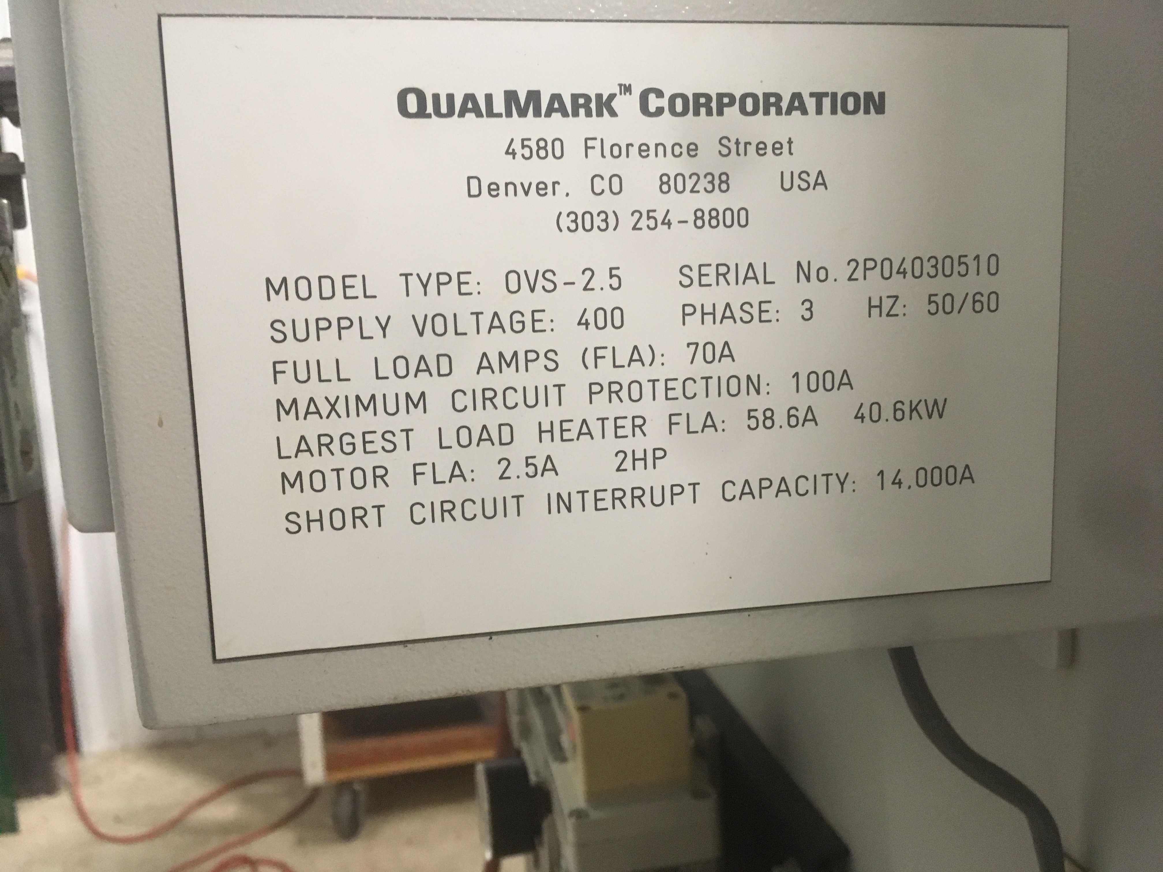 Qualmark OVS 2.5 HALT chamber with lots of upgrades