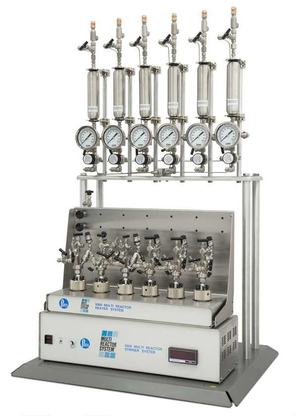 Parr Instrument Company- Series 5000 Multiple Reactor System