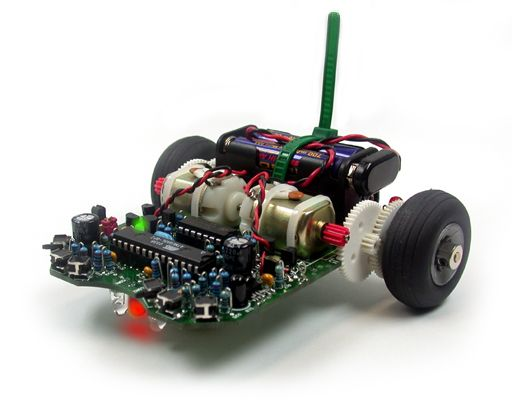 Global Specialties releases a new C-Programmable Robot Kit:  The ASURO Robot