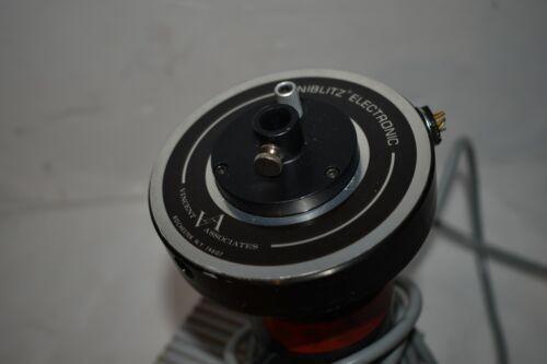 ^^ ZEISS 46 80 19-9901 LAMP HOUSE W/ VINCENT UNIBLITZ ELECTRONIC SHUTTER (CL47)