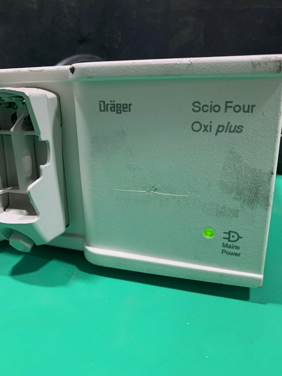 Drager Scio Four Oxi Plus Gas Module and Power Supply