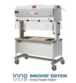 NuAire AllerGard ES (Energy Saver) NU-619 Innovive Edition Animal Transfer Station for INNOCAGE