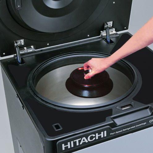 NuAire Hitachi Koki himac CR22N High-Speed Refrigerated Centrifuge