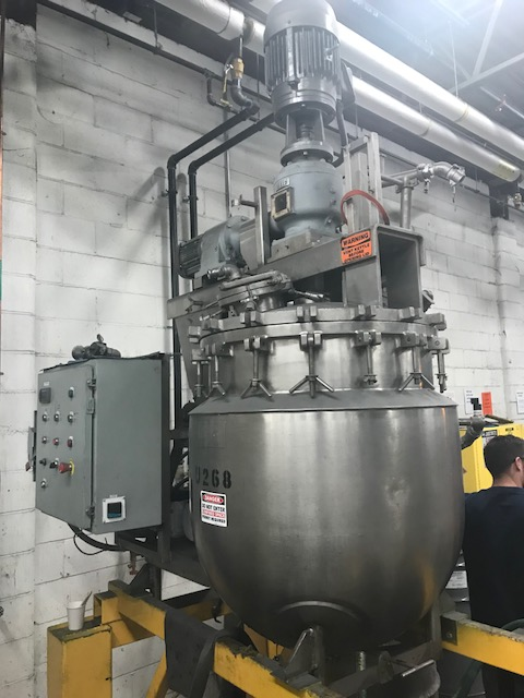 50 Gallon Triple  Motion Sweep Scraper Homogenizer Pardo Vacuum