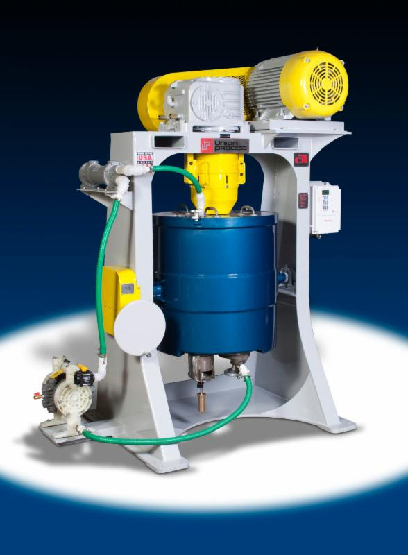 Union Process Manufactures S-50 Batch Attritor for Customer Processing Specialty Ceramics