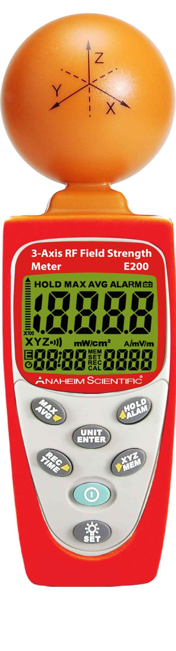 E200 3-Axis RF Field Strength Meter