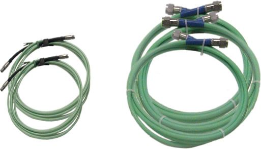 Low-Loss Cables for High Frequency Testing up to 40 GHz