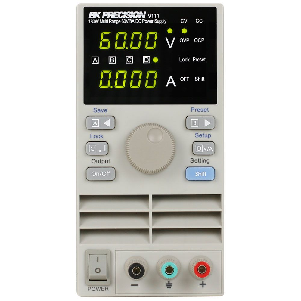 B&K Precision 9110 Series 60 V Multi Range DC Power Supplies