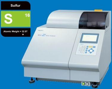 Mini-Z Sulfur Wavelength dispersive X-ray fluorescence sulfur (S) analyzer