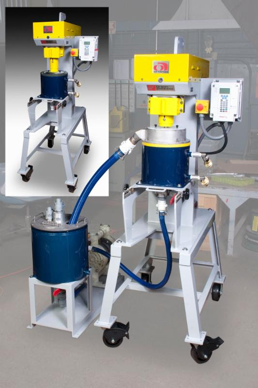 Union Process Manufactures SD1/Q Attritor Conversion System