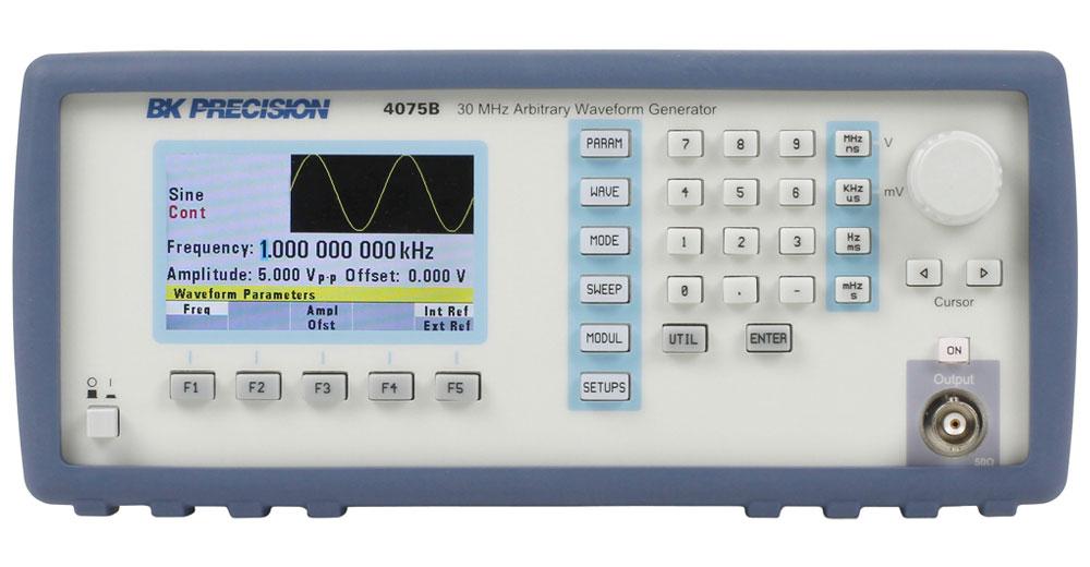 B&K Precision 4075B Series Arbitrary/Function Waveform Generators