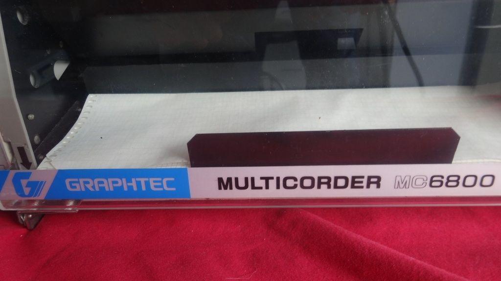 Western Multicorder MC6800 Graphtec Chart Recorder 6 CH