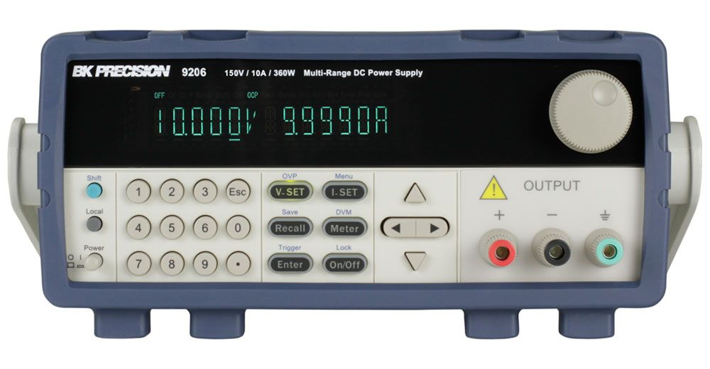 B&K Precision 9200 Series Multi-Range Programmable DC Power Supplies
