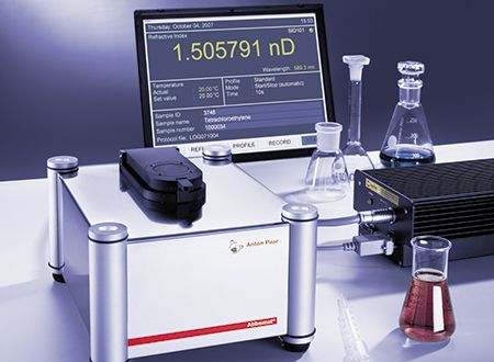 Abbemat MW Multiwavelengths Refractometer from Anton Paar
