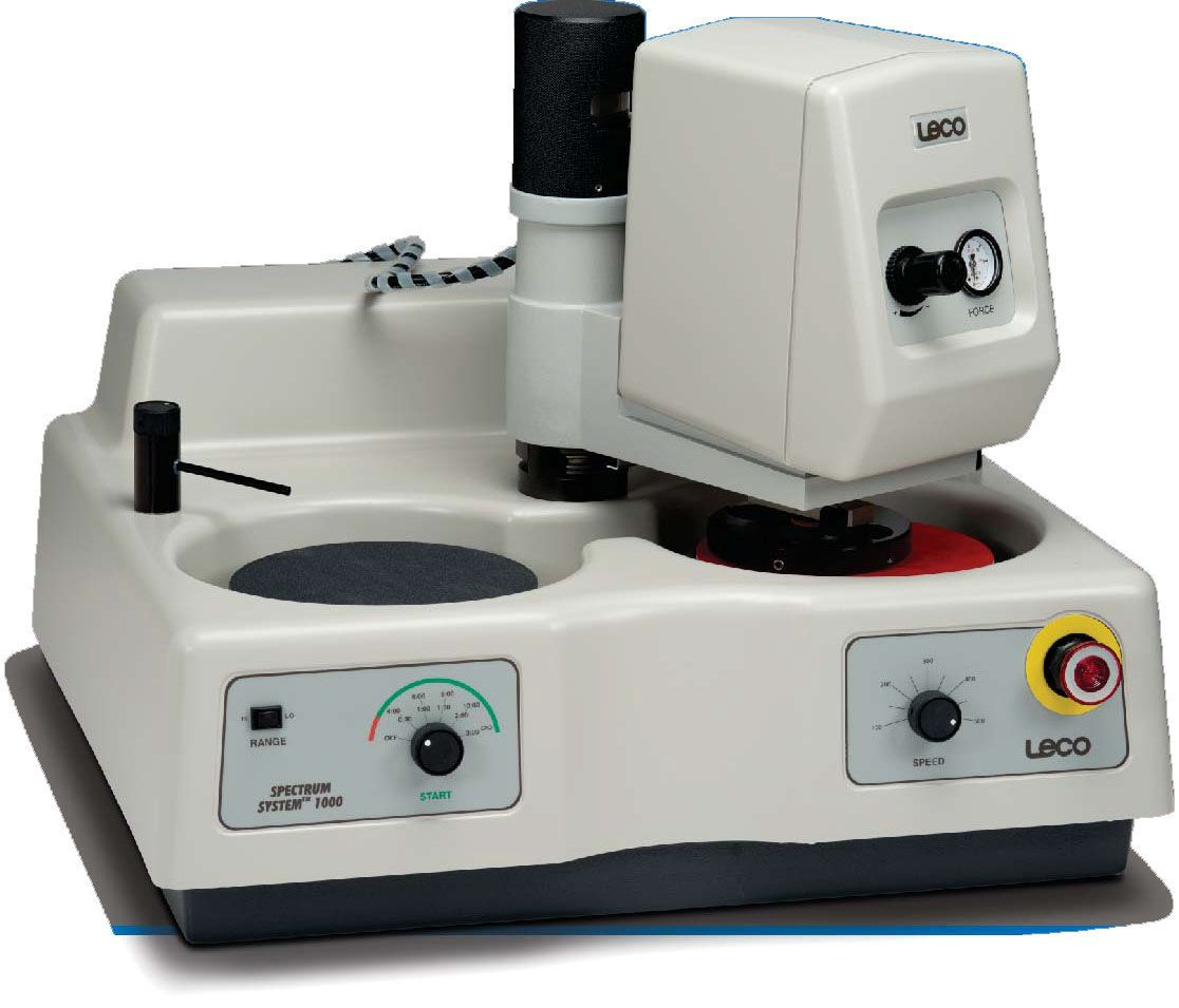 LECO SS1000 Grinder/Polisher for  Low- to Medium-Volume Laboratories