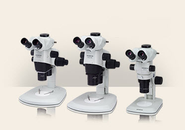 Olympus SZX2 Research Stereo Microscope System for Industrial Applications