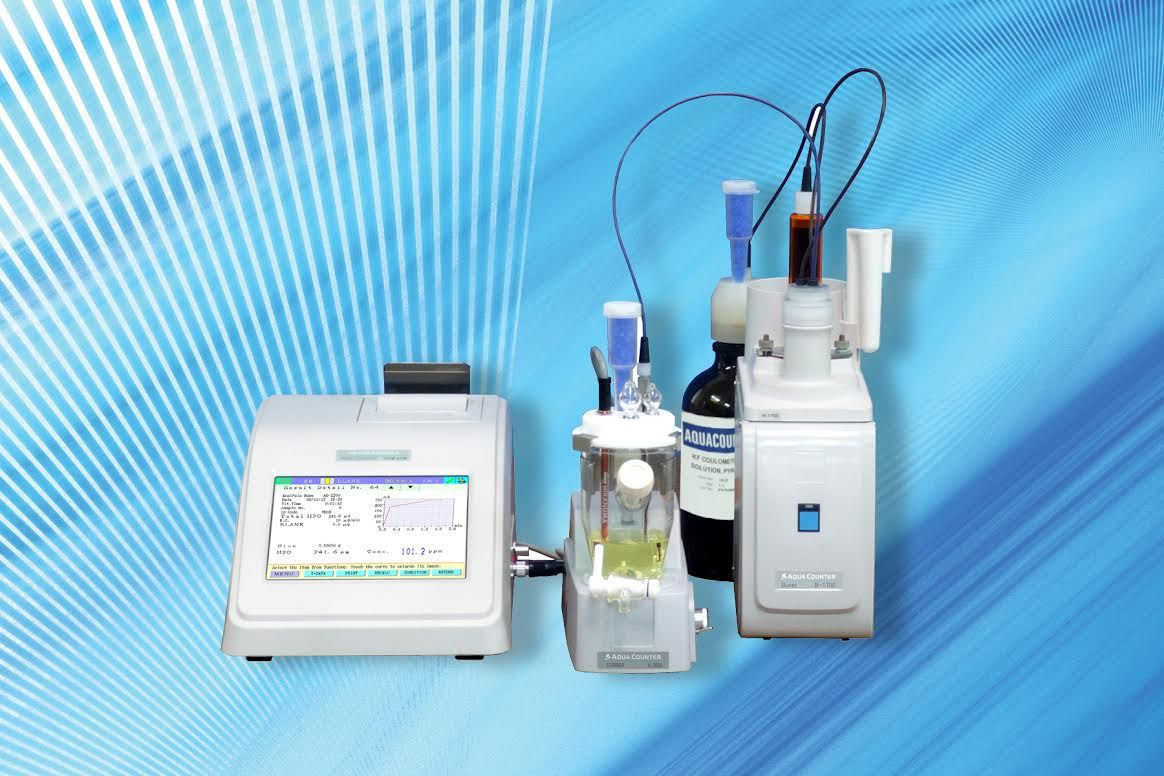 JM Sciences AQUACOUNTER (AQV-2200S) full featured Volumetric Karl Fischer Titrator