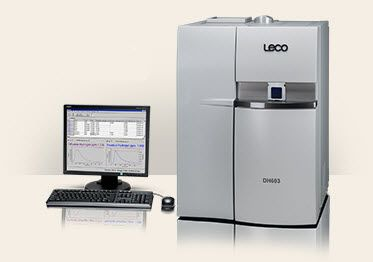 LECO DH603 Residual and Diffusible Hydrogen Determination by Hot Extraction