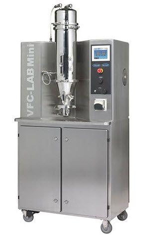 Freund-Vector VFC-LAB Mini Flo-Coater Multi-Purpose Laboratory Fluid Bed System (Patented)