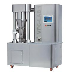 Freund-Vector VFC-LAB 1 and VFC-LAB 3 Flo-Coaters Multi-Purpose Laboratory Fluid Bed Systems