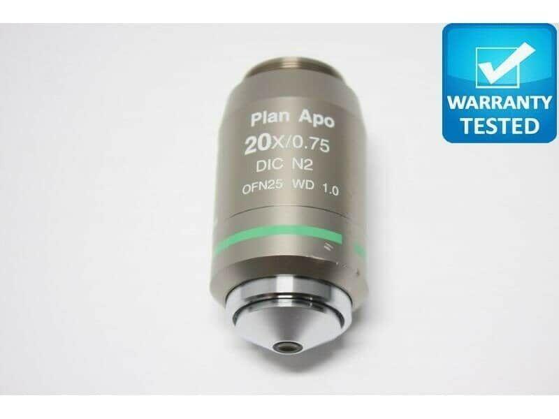 Nikon Plan Apo 20x/0.75 DIC N2 WD 1.0 Microscope Objective