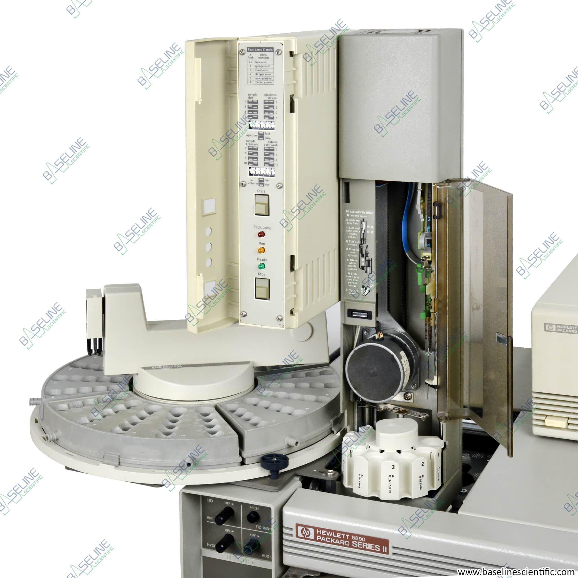 Refurbished HP 5890 Series II with Single SSL and single FID ONE YEAR WARRANTY