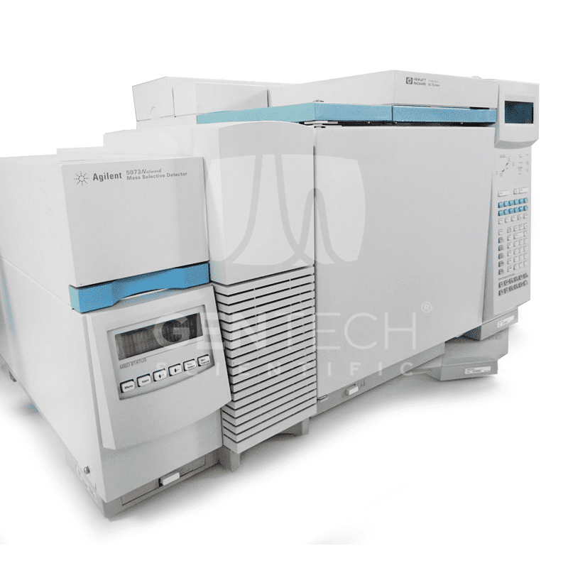 Agilent 6890N GC with 5973 MS