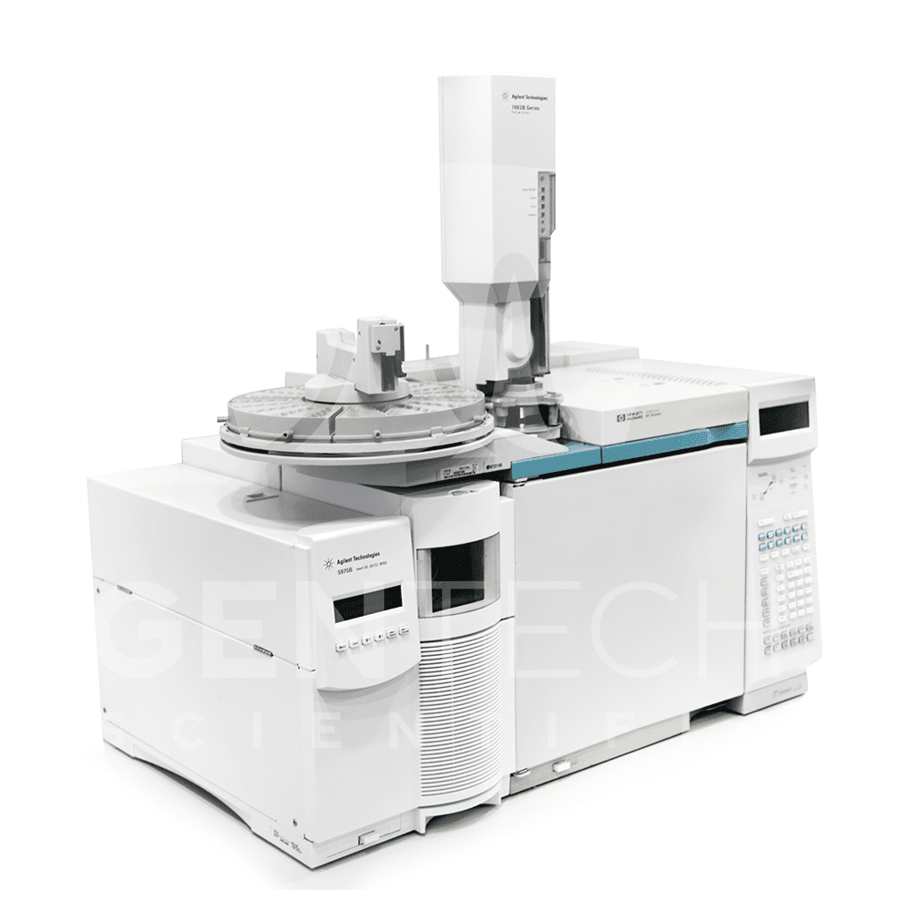 Agilent 5975C inert MSD with Triple Axis and 6890 Plus GC & 7683 Autosampler