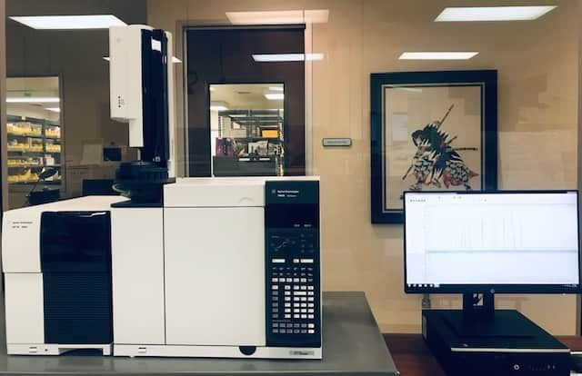 CANNABIS READY... Agilent 5977B with 7890B GC and 7693a (G4513a) Injector only ALS, 12-month Warranty