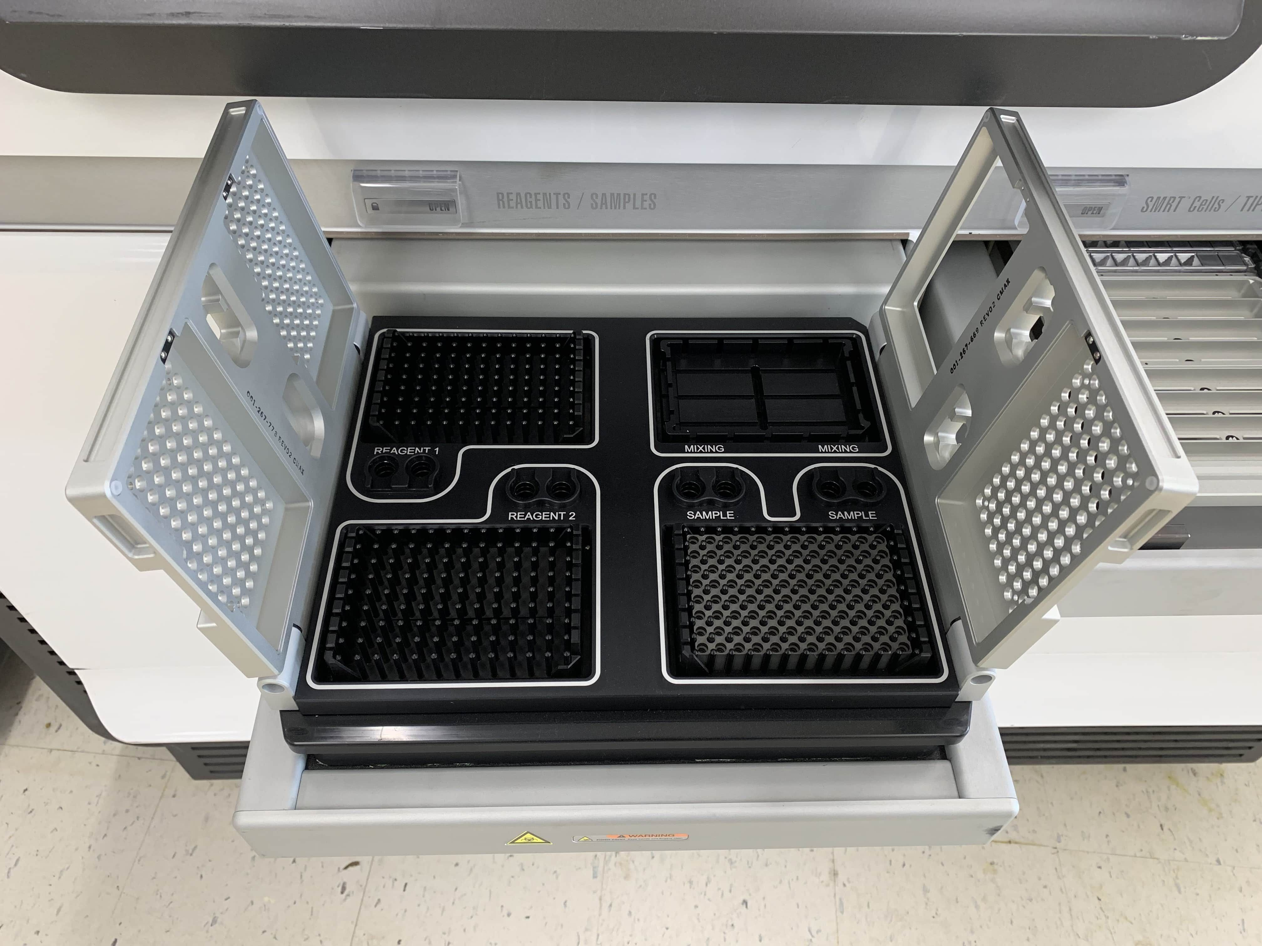 PacBio RS II DNA Sequencer 2011 Pacific Biosciences