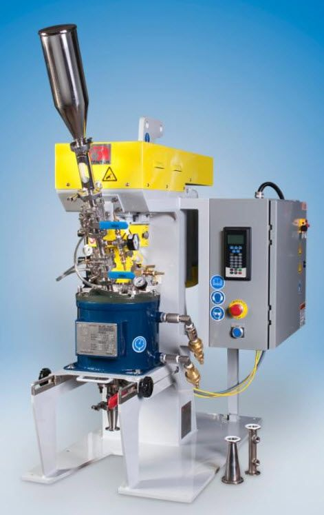 Dry Grinding Lab Attrition Mill with Special Charging & Discharging Capabilities