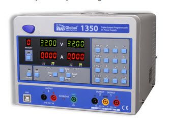 Cal Test Electronics 1350 Triple Output Programmable DC Power Supply