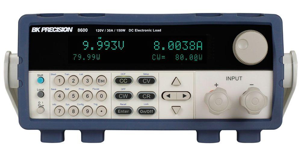 B&K Precision 8600 Series Programmable DC Electronic Loads