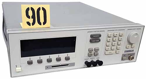 HP 8168C Test and Electronics Tunable Laser Source 1470 nm to 1580 nm. For characterizing and testin